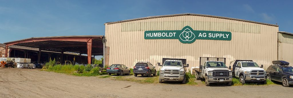 The front of the Humboldt Ag Supply location